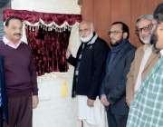 لاہور: وائس چانسلر پنجاب یونیورسٹی پروفیسر نیاز احمد اختر نیو کیمپس ..