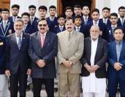 پشاور: کیڈٹ کالج بٹراسی کے کیڈٹس کا خیبر پختونخوا اسمبلی کے دورہ کے ..