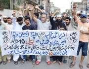 لاہور: گڑھی شاہو کے تاجر بجلی کے ٹرانسفارمر کے مطالبے کے لیے کوئن میری ..