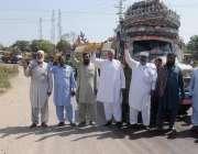 راولپنڈی: مزدور ڈے کے حوالے سے آئل ٹینکر کی راجہ سعید جنجوعہ کی قیادت ..