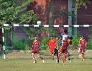 ملتان:گورنمنٹ ایمرسن کالج ملتان اور گورنمنٹ کالج وہاڑی ٹیموں کے مابین ..
