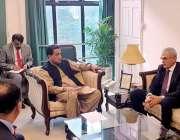اسلام آباد: جنرل ڈائریکٹوریٹ آف فاریسٹریشن کے ترک وفد نے آب و ہوا میں ..