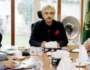 لاہور: صوبائی وزیر صنعت و تجارت میاں اسلم اقبال پنجاب سرمایہ کاری بورڈ ..