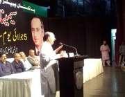 """کراچی: آرٹس کونسل کراچی میں معروف صحافی نذیر لغاری """"5جولائی یوم سیاہ .."""