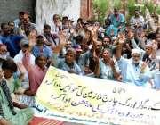 حیدر آباد: ایچ ڈی اے ایمپلائز یونین کی طرف سے تنخواہوں اور پنشن کی عدم ..