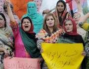 راولپنڈی: پیپلز پارٹی شعبہ خواتین کی مرکزی رہنماء نرگس فیض ملک و دیگر ..