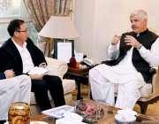پشاور: وزیراعلی خیبر پختونخوامحمودخان چترال میں 610 میگا واٹ ہائیڈرو ..