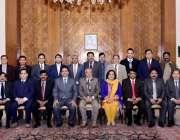 اسلام آباد: صدر مملکت ڈاکٹر عارف علوی کا اے پی این ای ایف پی جے ایف کے ..