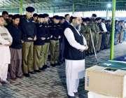 لاہور: انسپکٹر جنرل پولیس پنجاب شعیب د ستگیر پولیس لائنز قلعہ گجرسنگھ ..