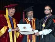 لاہور: وفاقی وزیر برائے تعلیم شفقت محمود گورنمنٹ کالج یونیورسٹی لاہور ..