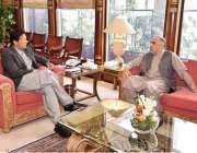 اسلام آباد: وزیر اعظم عمران خان سے سپیکر قومی اسمبلی اسد قیصر ملاقات ..