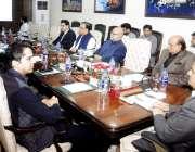 لاہور: وزیراعلی پنجاب سردار عثمان بزدارصوبے میں بلدیاتی انتخابات کے ..
