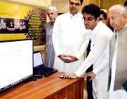 پشاور: وزیراعلی خیبر پختونخوا کے معاون خصوصی برائے سائنس وٹیکنالوجی ..