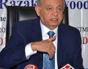 ملتان: وزیر اعظم کے مشیر برائے کامرس، ٹیکسٹائل انڈسٹری عبدالرزاق میڈیا ..