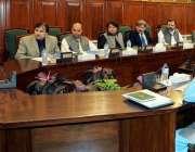 پشاور: گورنر خیبر پختونخوا شاہ فرمان ایڈورڈ کالج کے اجلاس کی صدارت ..