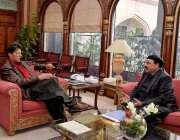 اسلام آباد: وزیر اعظم عمران خان سے وفاقی وزیر ریلوے شیخ رشید احمد ملاقات ..