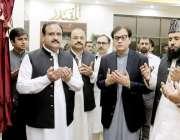 لاہور: وزیر اعلی پنجاب سردار عثان بزدار وزیراعلی آفس 8 کلب روڈ کی جامع ..