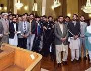 اسلام آباد: صدر مملکت ڈاکٹر عارف علوی ، یونیورسٹی آف بلتستان سکردو ..