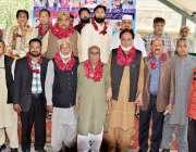 لاہور: ریلوے ورکرز یونین کے زیر اہتمام ریٹائر ہونیوالے مزدور رہنماؤں ..