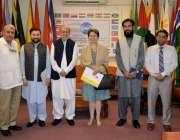 اسلام آباد:یوور پیو نین مشن کی ڈپٹی ہیڈ آف مشن برائے یورپین یونین مسز ..