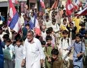 جاتی: جاتی میں منشیات کے خلاف شہری ایکشن کمیٹی کے تحت احتجاجی ریلی نکالی ..