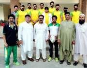 پشاور: پاکستان رگنی یونین اور صوبائی رگبی ایسوی ایشن کے زیراہتمام منعقدہ ..