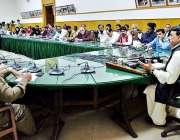 لاہور: وفاقی وزیر ریلوے شیخ رشید احمد ریلوے ہیڈ کوارڈرز میں پریس کانفرنس ..