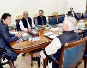 اسلام آباد: وزیر اعظم عمران خان سے گورنر خیبر پختونخوا شاہ فرمان اور ..