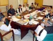 میرپور: وزیر جنگلات سردار امیر اکبر خان میر پور جائزہ اجلاس میں افسران ..