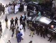 حیدر آباد: چیئرمین پیپلز پارٹی بلاول بھٹوزرداری کی پریس کلب آمد پر ..