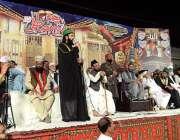 راولپنڈی: پیر حسن حسیب الرحمن محفل عید میلاد النبی ﷺ سے خطاب کر رہے ..