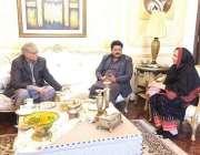 لاہور: صوبائی وزیر پبلک پراسیکیوشن چوہدری ظہیر الدین تحریک انصاف کی ..