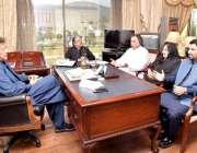 اسلام آباد: وزیر اعظم عمران خان سے قاسم خان سوری، میر خان محمد جمالی ..