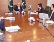 اسلام آباد: صدر آزاد کشمیر سردار مسعود خان کو اوورسیز انویسٹمنٹ کنونشن ..