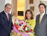کوالالمپور: ایچ آر ایچ سلطانہ کلثوم ملائشیا میں اپنی رہائش گاہ پر وزیر ..