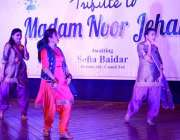 فیصل آباد: فنون کونسل کے زیر اہتمام بدھ کی رات کو میڈم نور جہاں کو خراج ..