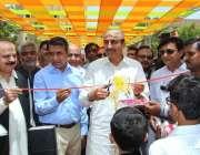 حیدر آباد: صوبائی وزیر زراعت محمد اسماعیل راہو ایکسپو سنٹر میں دو روزہ ..