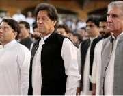 اسلام آباد: وزیر اعظم عمران خان تحریک انصاف کے یوم تاسیس کے کنونش کے ..