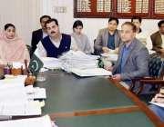 لاہور: ڈپٹی کمشنر لاہور صالحہ سعید ڈسٹرکٹ کوالٹی کنٹرول بورڈ کے اجلاس ..