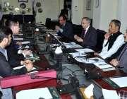اسلام آباد: وزیر اعظم کے معاون خصوصی برائے ٹیکسٹائل عبدالرزاق داؤد ..