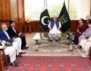 اسلام آباد:اسپیکر قومی اسمبلی اسد قیصر سے پی پی اے ایف کے مبران ملاقات ..