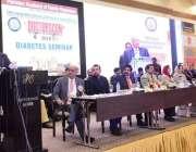 لاہور: گورنر پنجاب چوہدری محمد سرور پاکستان اکیڈمی آف فیملی فزیشنز ..