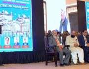 لاہور: گورنر پنجاب چوہدری محمد سرور سالانہ انٹر نینشل کانفرنس فیملی ..