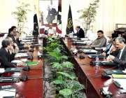 اسلام آباد: وزیر اعظم کے معاون خصوصی برائے فنانس، ریونیور اینڈ اکنامک ..