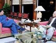 اسلام آباد: وزیر اعظم عمران خان سے وزیر پٹرولیم غلام سرور خان ملاقات ..