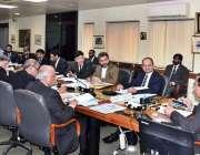 اسلام آباد : چیئرمین نیب جسٹس (ر) جاوید اقبال نیب ہیڈ کوارٹرز میں اجلاس ..