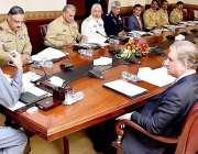 اسلام آباد: وزیر اعظم عمران خان قومی سلامتی کمیٹی کے اجلاس کی صدارت ..