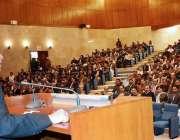 اسلام آباد: محترم چیف جسٹس آف پاکستان جناب جسٹس آصف سعید خان کھوسہ ، ..