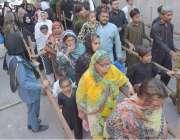 لاہور: امیر المومنین حضرت علی کرم اللہ وجہہ کے یوم شہادت کے مرکزی جلوس ..