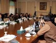 پشاور: وزیر اعلیٰ خیبر پختونخوا محمود خان پی ڈی اے اور ڈبلیو ایس ایس ..